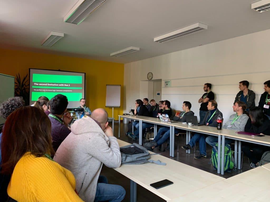 Diskussion Barcamp Vue