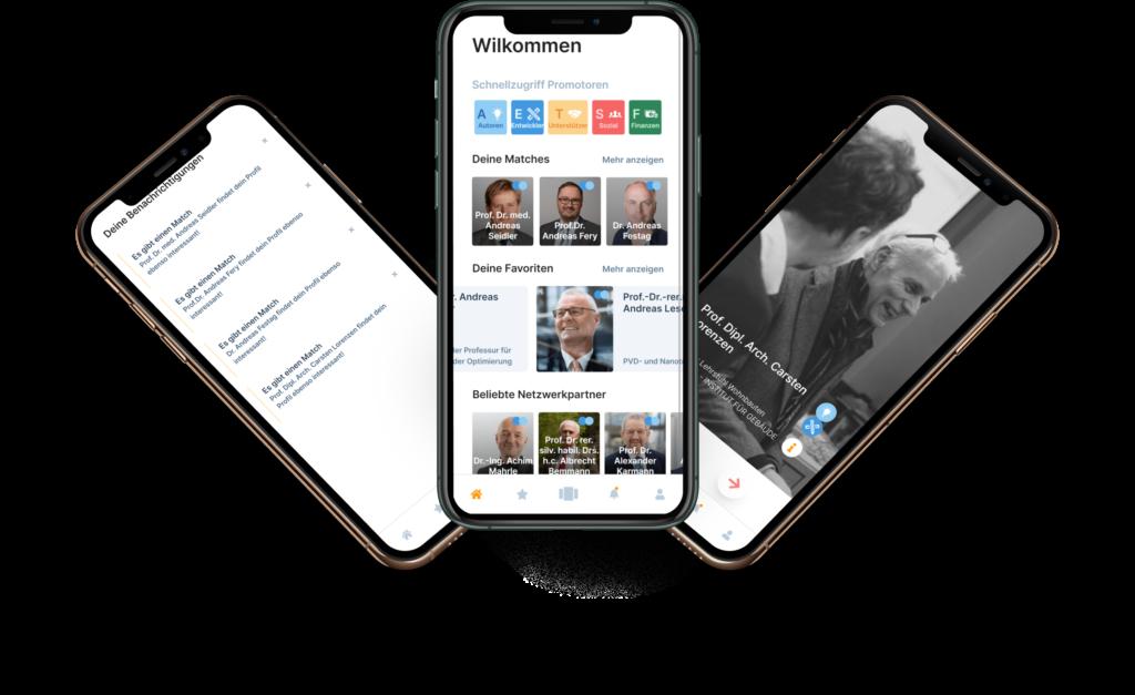 Progressive Web App / UX Prototyp